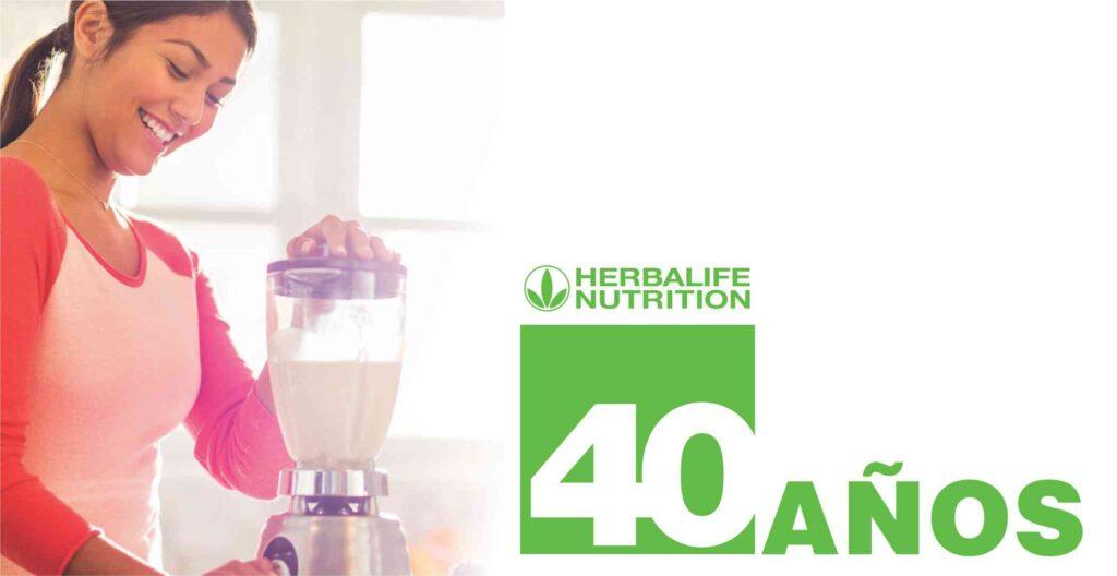 Herbalife Nutrition - 40 años