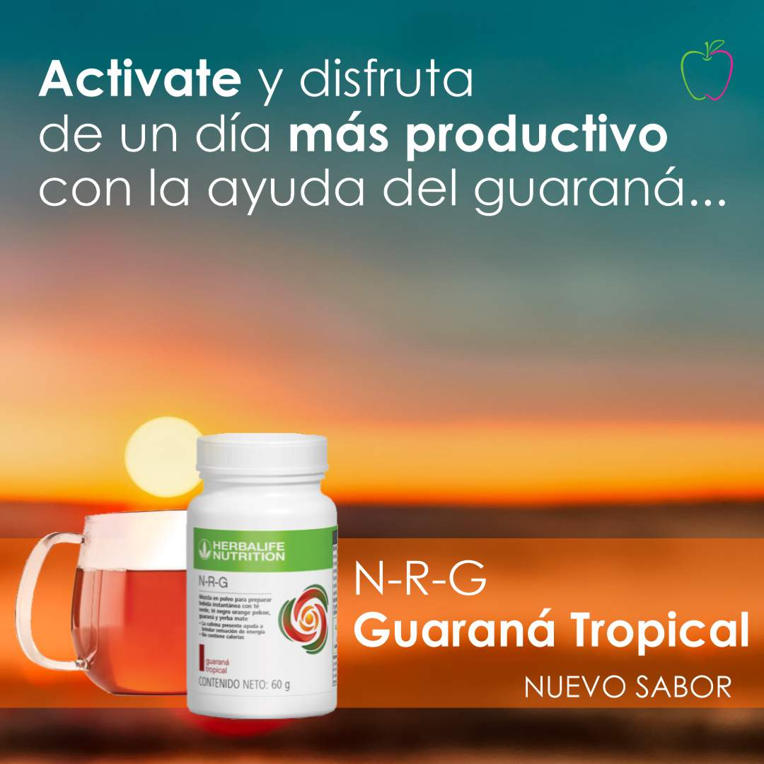 NRG sabor Tropical Herbalife Nutrition